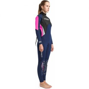 Cressi Women's 3:2mm Full Wetsuit - Pink:Blue