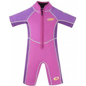 Osprey Kid's 3mm Summer Wetsuit - Purple