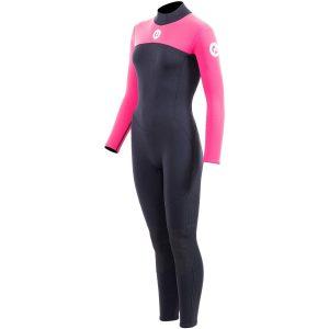 Two Bare Feet Women's 3mm Back Zip Full Wetsuit (3)